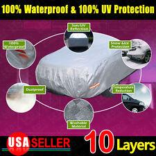 10 Layers A3 Soft Aluminum Car Cover Seams Anti Scratch Sun UV Resist WaterProof