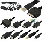 10 in 1 Universal Charger USB Cable for iPod iPhone Motorola Nokia Samsung PSP