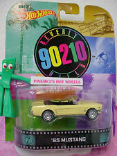 2014 Retro '65 MUSTANG☆Beverly Hills 90210☆Yellow☆Real Riders☆1965☆Hot Wheels