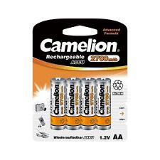 QUALITE : 8 Accus Piles rechargeables AA/LR6 2700mAh CAMELION