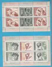 RUSSIA MNH** URSS RUSSIA Coppia 2 BF 1975 500° della nascita di Michelangelo