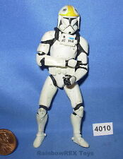 "Star Wars 2002 CLONE TROOPER Republic Gunship Pilot SWS 3.75"" figure #3"
