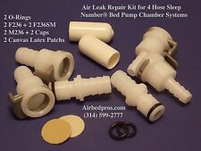 Air Leak Repair Bundle for 4 Hose Sleep Number® Bed Pump and Air Chamber Systems