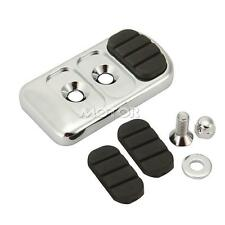 Motorcycle Chrome Brake Pedal Pad Cover For HONDA SHADOW REBEL VTX 1300 1800