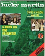 fotoromanzo LE AVVENTURE DI LUCKY MARTIN ANNO 1977 NUMERO 108 DE ANGELIS COFFA