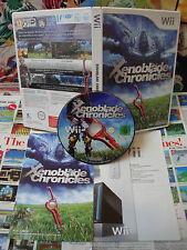 Nintendo Wii:Xenoblade Chronicles [TOP RPG & 1ERE EDITION RARE] COMPLET - Fr