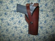 Leather Holster for 1911 45 semi auto
