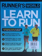 Runner's World Learn To Run Beginner's Guide Get Healthy UK 2015 FREE SHIPPING!