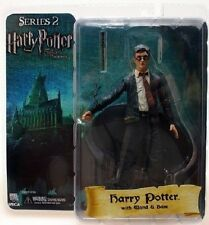 "Harry Potter & Order of the Phoenix 7"" Series 2 Action Figure Harry w Wand/Base"