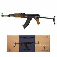 Double Eagle M900C AK-47S Metal Electric Airsoft Assault Rifle Full & Semi Auto