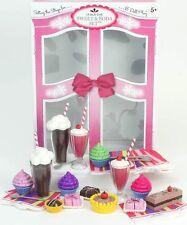 Doll Food 27 PC Sweet Treats Set, Soda, Milkshakes For18 in American Girl Doll