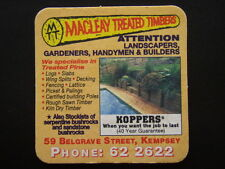 MACLEAY TREATED TIMBERS 59 BELGRAVE ST KEMPSEY 622622 COASTER