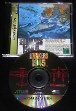 STRIKERS 1945 Sega Saturn Versione Giapponese NTSC ••••• COMPLETO