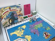 1992 Where in The World is Carmen Sandiego Mystery Geography Board Game COMPLETE
