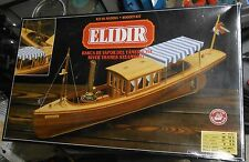 Elidir River Thames Steamboat Wooden Ship Boat Model Kit 1:26 Constructo AS IS