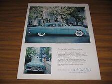 1951 Print Ad Packard 300 4-Door Soft Spoken Boss of the Road