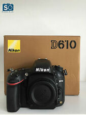 Nikon D610 24.3 Mp Digital Slr Camera (body Only) (excelente Estado) ***
