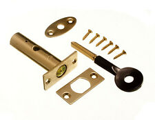 *Door Security Rack Bolt And Star Key 60Mm Eb Brass Plated Complete With Screws