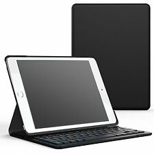 Apple iPad Pro 9.7/Air 2 Keyboard Case Ultra-Slim Wireless Bluetooth Folio Stand