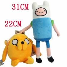 New Adventure Time with Finn and Jake Kids Child Plush Toys Gift 2 Pcs/Set