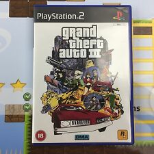 Grand Theft Auto III (GTA 3) - SONY PLAYSTATION 2 PS2 Juego Con Mapa-como Nuevo