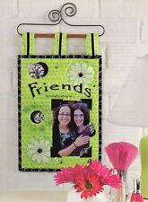 Friends Wall Hanging Quilt Pattern Pieced/Applique CK