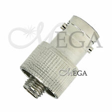 SMA-Female to BNC-Female Adaptor Connector+ Rubber Ring for Two Way Radio