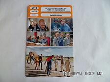 CARTE FICHE CINEMA 2013 LE VIEUX QUI NE VOULAIT PAS FETER SON ANNIVERSAIRE