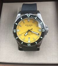 Shinola Filson Dutch Harbor Men's Watch 30 ATM Silicone Band F0120001746 NWT