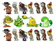 Plants vs. Zombies edible cake strips cake topper decorations