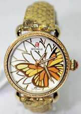 Michele Garden Party Yellow Topaz Diamond CSX  Butterfly Watch MW05D41B0996 Ltd