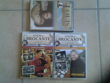 11271 //LOT 3 DVD LOUIS LA BROCANTE DVD EN TBE