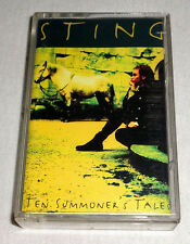 PHILIPPINES:STING - Ten Summoner's Tales,TAPE,Cassette,RARE,NEW WAVE,THE POLICE