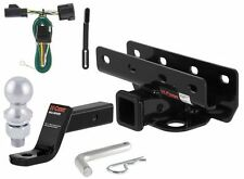 Curt Class 3 Trailer Hitch Tow Package for Jeep Wrangler