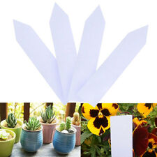 100pcs Garden Plant Pot Markers Plastic Stake Tags Nursery Seed Label Tags Hot