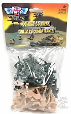 35 pcs Military Plastic Toy Soldiers Army Men Green 1.75in Figures Combat  New