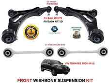 VW TIGUAN 2007   FRONT 2X WISHBONE ARMS 2x STABILISER LINK BARS SUSPENSION KIT
