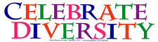 Celebrate Diversity – LGBT Diversity Bumper Sticker / Decal