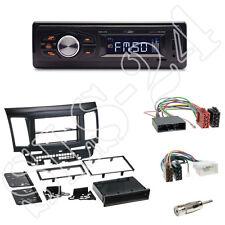 Caliber RMD022 orange SD-Radio +Mitsubishi Lancer(CYO )Blende black +ISO Adapter