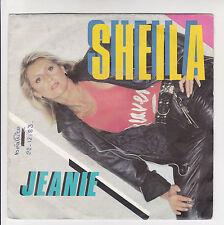 """SHEILA Vinyle 45T 7"""" JEANIE -E6 DANS LE QUINZIEME - CARRERE New E 13331 F Réduit"""