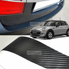 Carbon Rear Bumper Protector Decal Sticker Cover for BMW 2006 - 2014 Mini Cooper