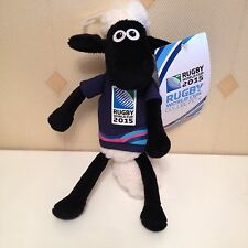 Shaun The Sheep Rugby World Cup 2015 Plush Soft Toy Animal Figure Doll With Tag