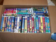 35  Childrens VHS Tapes Mostly Walt Disney All Tested OK