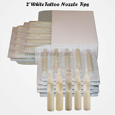 100 Assorted Disposable Tattoo Nozzles Tubes Tips RT FT Mag Kit uSelect sizes