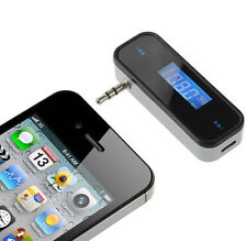 Mini Wireless Car FM Transmitter Radio for MP3 Music Player iphone ipod samsung)