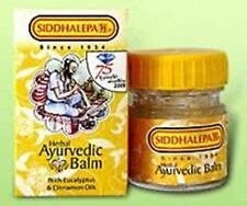 Siddhalepa Ayurveda Herbal Balm Headache Cold Aches 50g