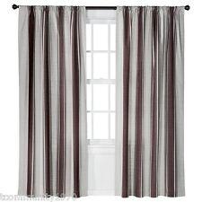 """Threshold Window Panel Farrah Awning   -  Red Awning Strip (54"""" x 84"""")"""