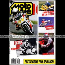 MOTO REVUE N°2856 CAGIVA 125 C10 R 350 T4 HONDA CR 500 CBR 600 YAMAHA XJ FZ 1988