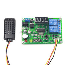 LED Display Digital Temperature & Humidity Control Board w/ AM2301 Sensor