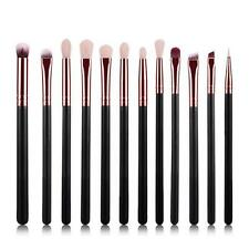 Pro Makeup 12pcs Brushes Set Powder Foundation Eyeshadow Eyeliner Lip Brush Set
